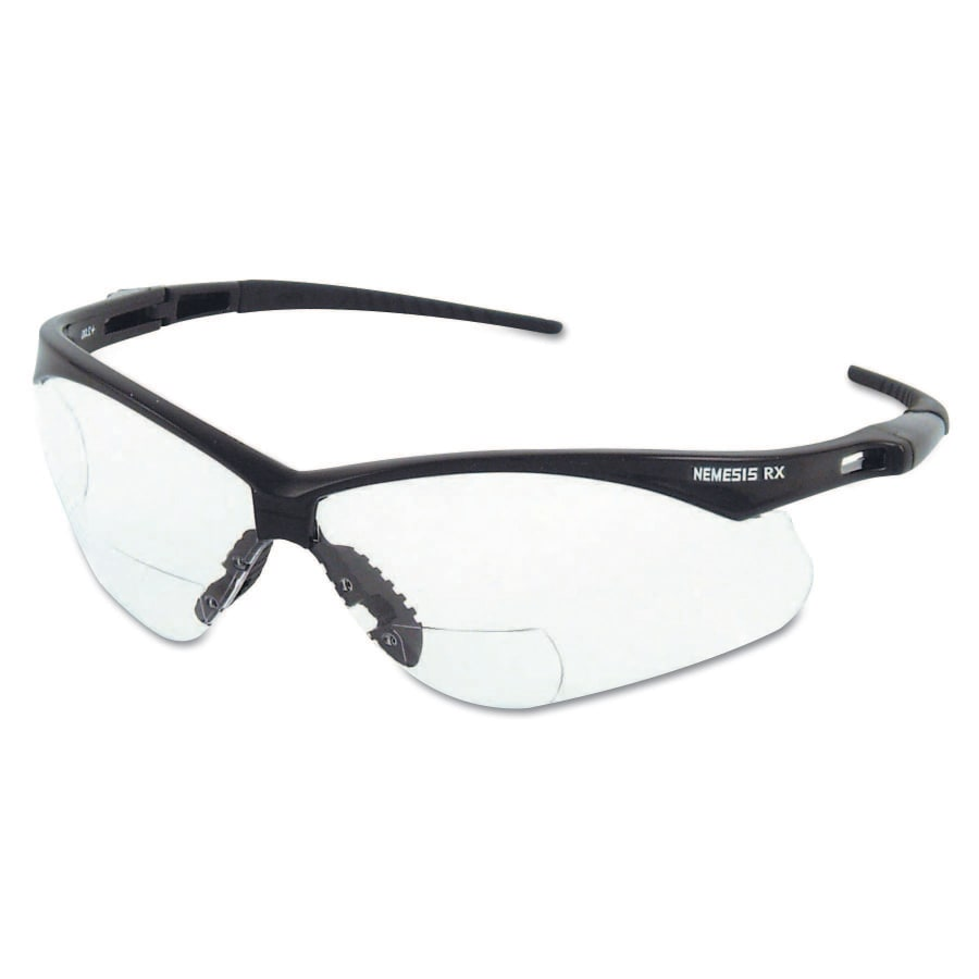 Kleenguard V60 Nemesis RX Safety Glasses, +2.5 Diopter, Anti-Scratch - 28627