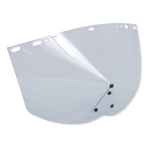 "Jackson F30 Acetate Face Shields, 9154 CHIN, Clear, 15.5"" x 9"" - 29060"