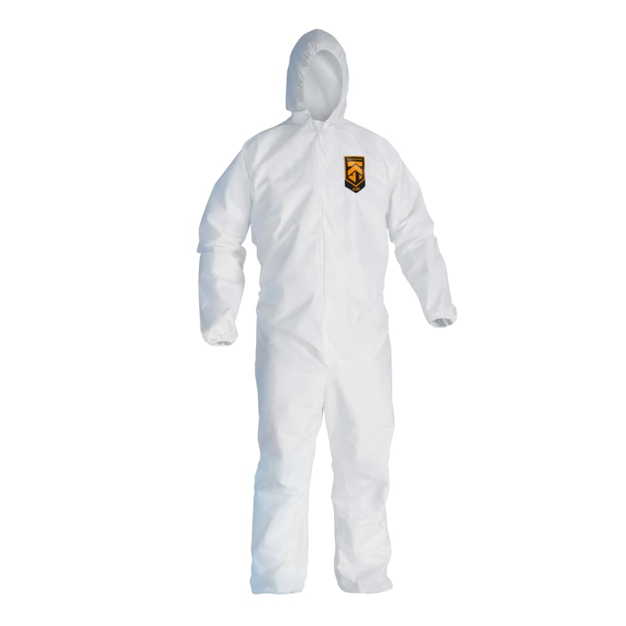 Kleenguard A20 Breathable Particle Protection Coveralls, 20/pk