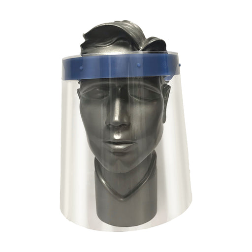 COVID PPE Faceshield for inexpensive protection