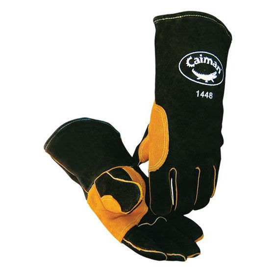 Caiman Premium Series Gloves, Split Cowhide - 1448