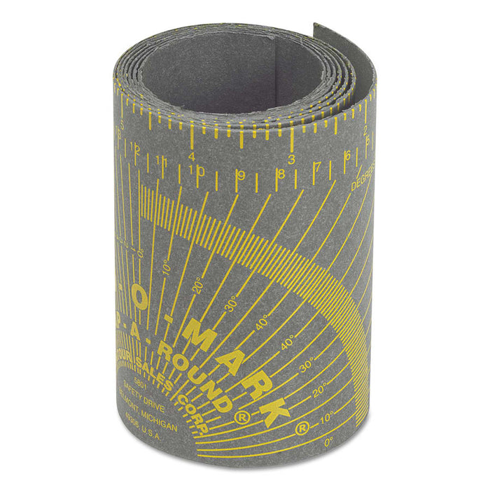 "Curv-O-Mark X-Large Wrap-A-Round, 5"" x 9 ft - 14767"