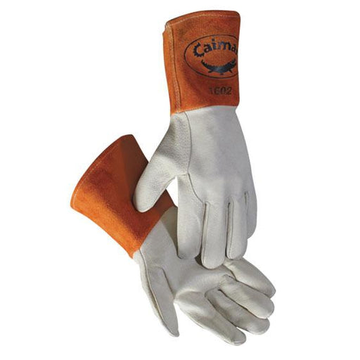 Caiman MIG/TIG Series Gloves Pig Grain Leather - 12/pk - 1602