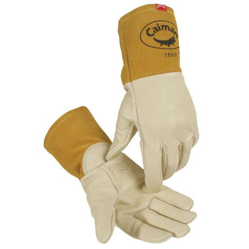 Caiman Cow Grain Leather Kontour MIG Gloves - 1869
