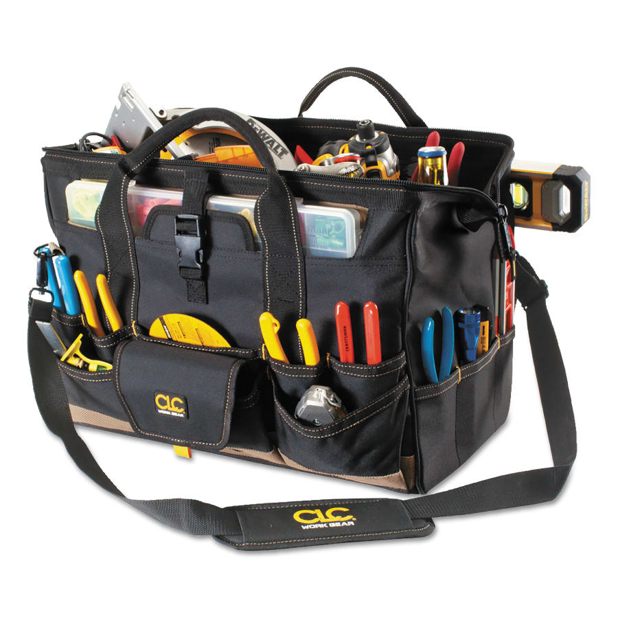 "CLC 18"" Tool Bag w/ Top Side Parts Tray - 1535"