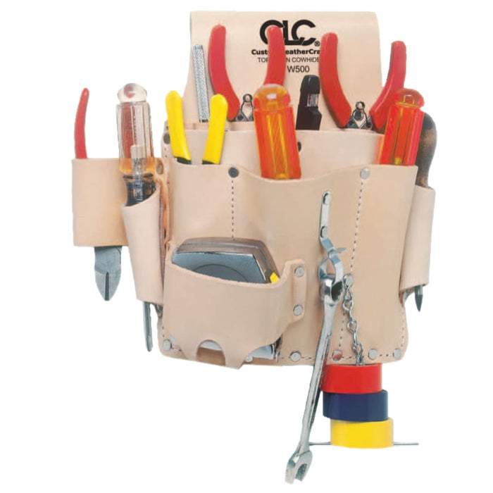 CLC 8 Pocket Electrician's Tool Pouch - W500