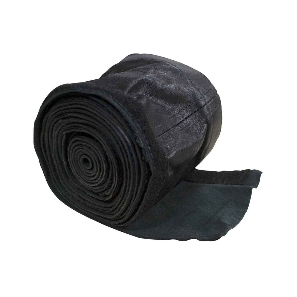 "CK Worldwide Hose Cover 3-3/4"" X 10' Leather Velcro - 212HCLV"