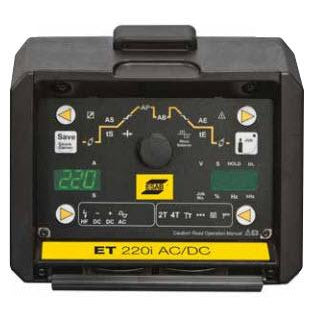 ESAB ET 220i AC/DC HF TIG Welding Power Source - W1009300