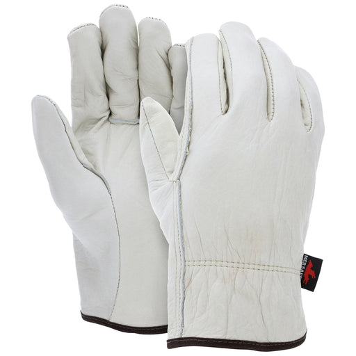 MCR Safety Leather Driver Work Gloves, 12/pk - 3201
