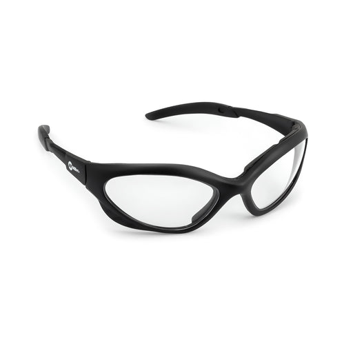 Miller Safety Glasses - Black Frame / Clear Lens - 238979