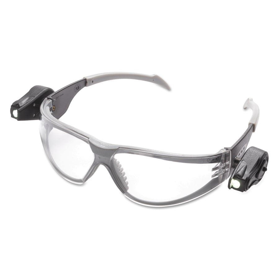 AO Safety Light Vision Safety Glasses w/ LED Lights, 10/pk - 11356-00000-10