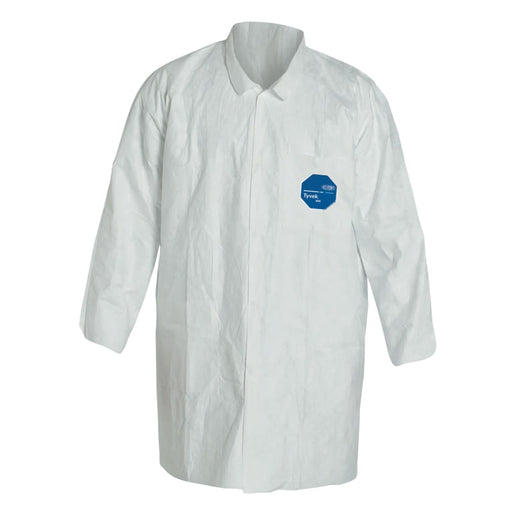 DuPont Tyvek Lab Coat w/ Two Pockets - TY212S