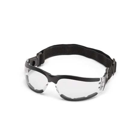 Miller Classic Safety Glasses With Strap (Clear) - 272188