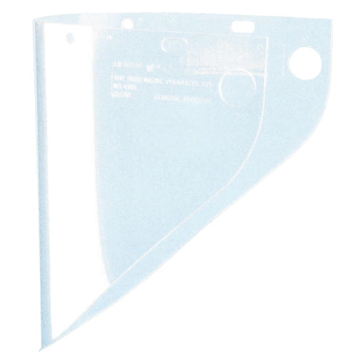"Fibre-Metal High Performance Faceshield Window, 19.75"" x 9"" - 4199-CL"