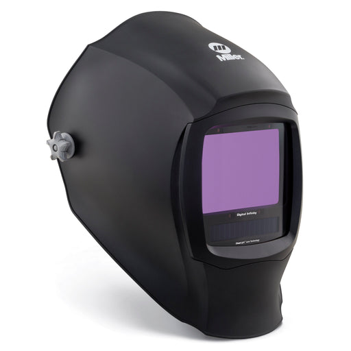 Miller Digital Infinity Black Welding Helmet from the side 280045