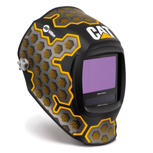 Miller Digital Infinity CAT II Welding Helmet from the side 282007