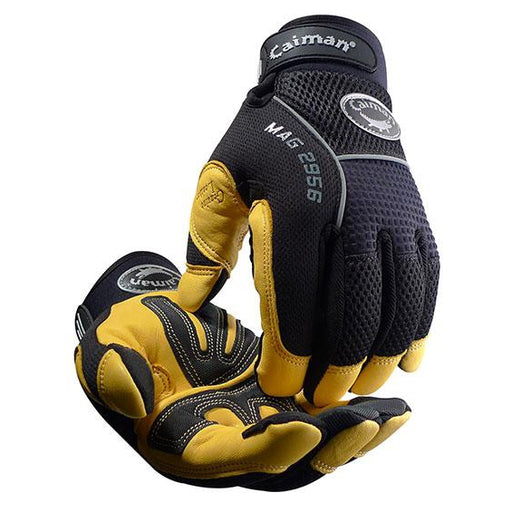 Caiman Multi Activity Gold Grain Leather Gloves - 2956