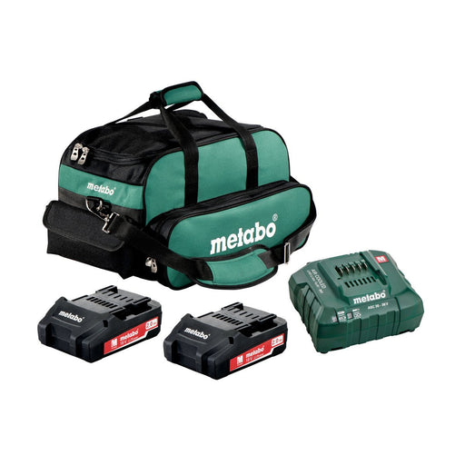 Metabo 2x 2.0Ah Ultra-M Compact Kit - US625596020