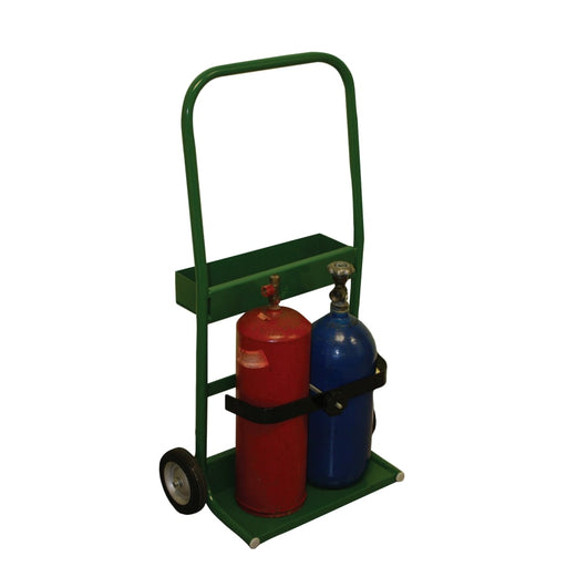 "Saf-T-Cart 800 Series Cylinder Cart, 8 x 16"" Base - 810-6"