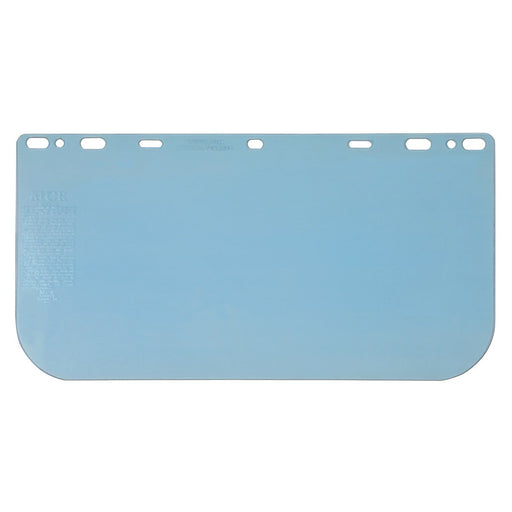 "MCR Safety Clear Polycarbonate Faceshield, 8"" x 15.5"" x .060"" - 181560"