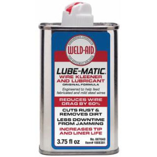 Weld-Aid Light Yellow Lube-Matic Liquid, 3.75 fl oz - 007040