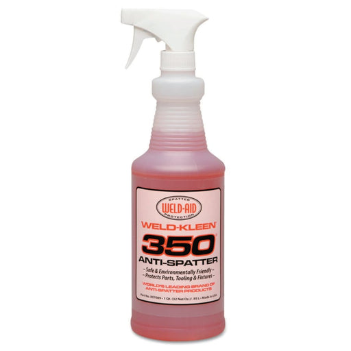 Weld-Aid Weld-Kleen 350 Anti-Spatter, 1 Qt Spray Bottle  - 007089