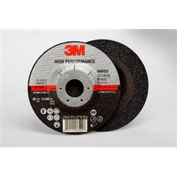 3M High Performance Grinding Wheel T27QC 4.5x1/4x5/8-11in 20ca - 66553
