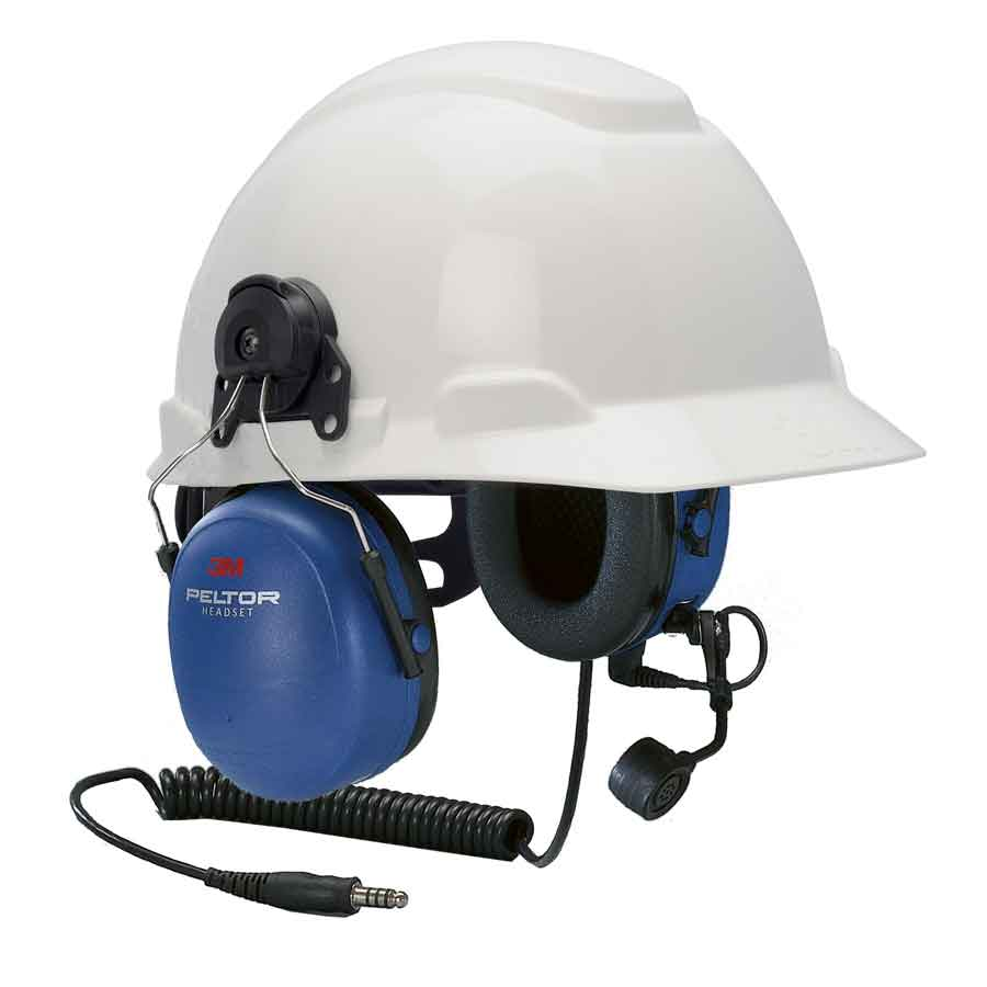 3M Peltor MT Series 2-Way Comm. Headset - H-Hat Mount MT7H79P3E-FM-50
