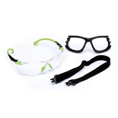 3M Solus 1000 Series Anti-Fog Green Safety Eyewear Kit - S1201SGAF-KT