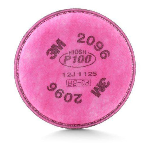 3M Particulate Filters w/ Nuisance Level Acid Gas Relief - 2/pk - 2096