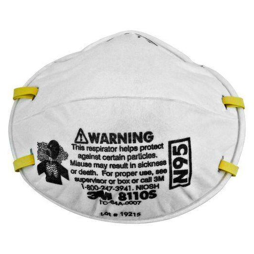 3M Particulate Respirators Size Small- N95 - 20/pk - 8110S
