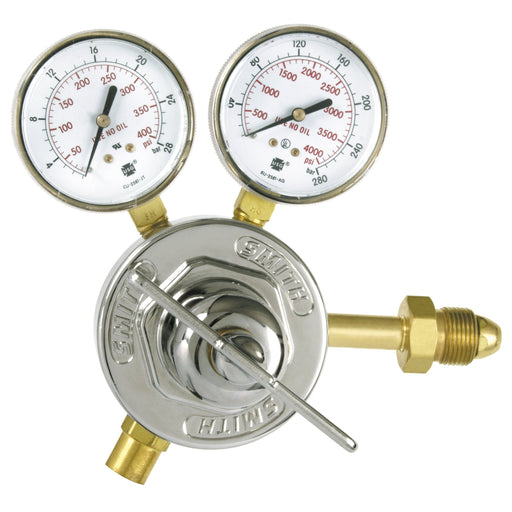 Smith HD 40 Series Nitrogen Regulator CGA 580 In 275 Out - 40-275-580