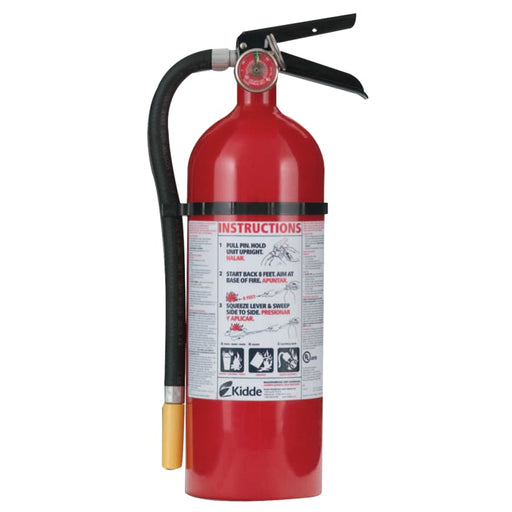Kidde ProLine Multi-Purpose Dry Chemical Fire Extinguisher-ABC Type, 5 lb - 466112