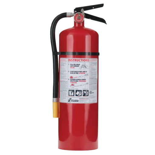Kidde ProLine Multi-Purpose Dry Chemical Fire Extinguisher-ABC Type, 10 lb Cap. - 466204