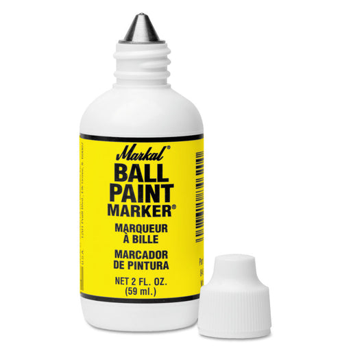 "Markal Ball Paint Marker, 1/8"" w/ Metal Ball Point - 84621"