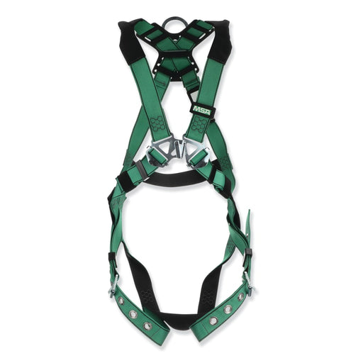 MSA V-FORM Standard Full-Body Harness, Back D-Ring - 10196642