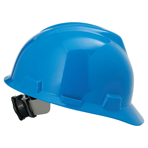 MSA V-Gard Hard Hat w/ Fas-Trac III Suspension, Slotted - 475359