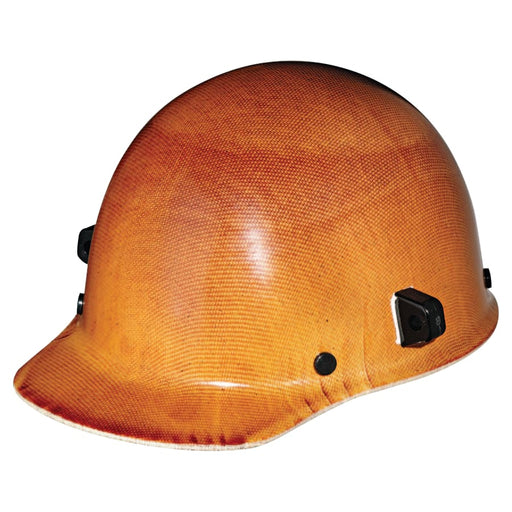 MSA Skullgard Hard Hat w/ Fas-Trac Suspension and Welders Lugs - 482002