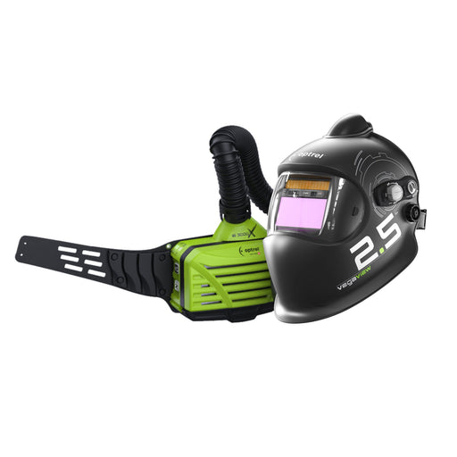 Optrel Vegaview Helmet with the e3000X PAPr Blower Unit