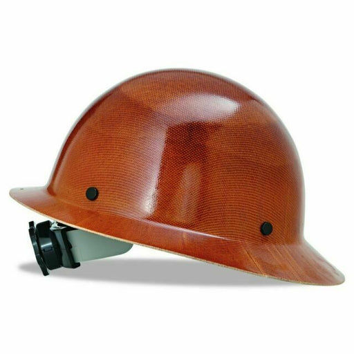 MSA Skullgard Full Brim Hard Hat w/ Fas-Trac III Suspension - 475407