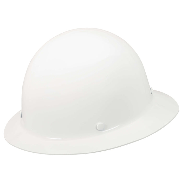 MSA Skullgard Full Brim Hard Hat w/ Fas-Trac III Suspension - 475408