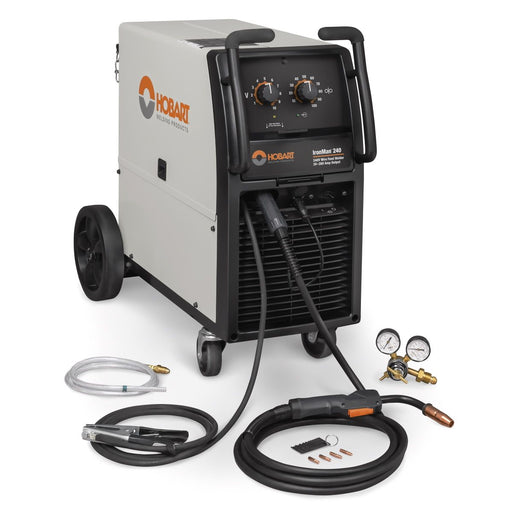 Hobart IronMan 240 MIG Welding Machine package