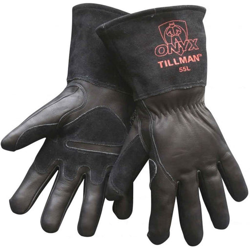 Tillman Onyx Top Grain/Split Cowhide MIG Glove - 55