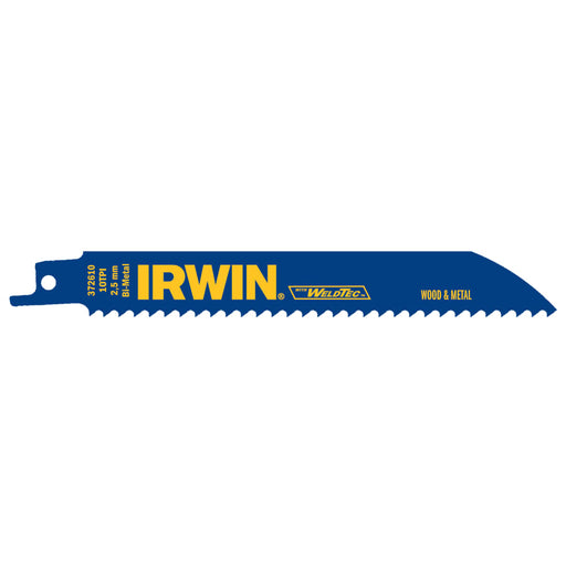"Irwin Reciprocating Saw Blade, 6"" x 3/4"", 25/pk - 372610"