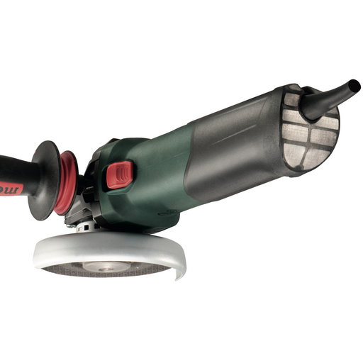 "Metabo WEV 17-125 Quick Inox 4.5""-5"" Variable Speed Angle Grinder, 14.5 Amp - 600517420"