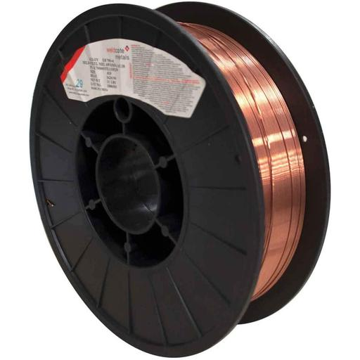 "Weldcote Metals ER70S-6 Mild Steel MIG Wire, .030"", 11# - E70S6030X11SP"