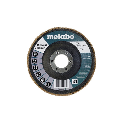 "Metabo Original Flapper Flap Discs, 4.5"", Type 27"