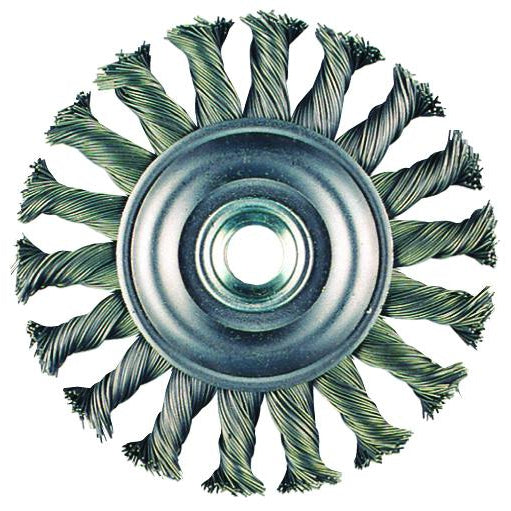 "Metabo Wire Wheel Brush, 6-7/8"" x 3/16"", 5/8-11"" - 655133000"