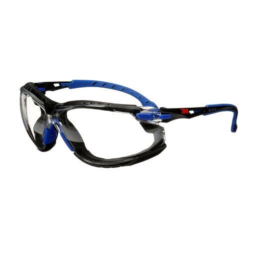 3M Solus 1000 Series Anti-Fog Blue Safety Glasses - S1101SGAF-KT