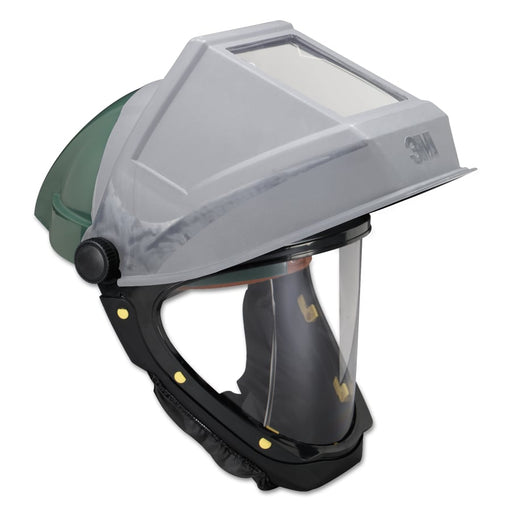 3M Hardhat with Welding Shield & Wide-View Faceshield - L-705SG-F